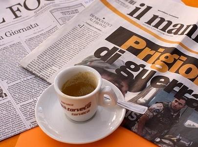 Caffè (s)corretto: i commenti alle notizie del mattino
