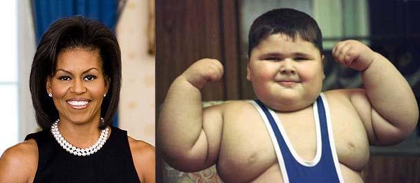 Sos di lady Obama dalle Olimpiadi di Londra: mai più bimbi obesi