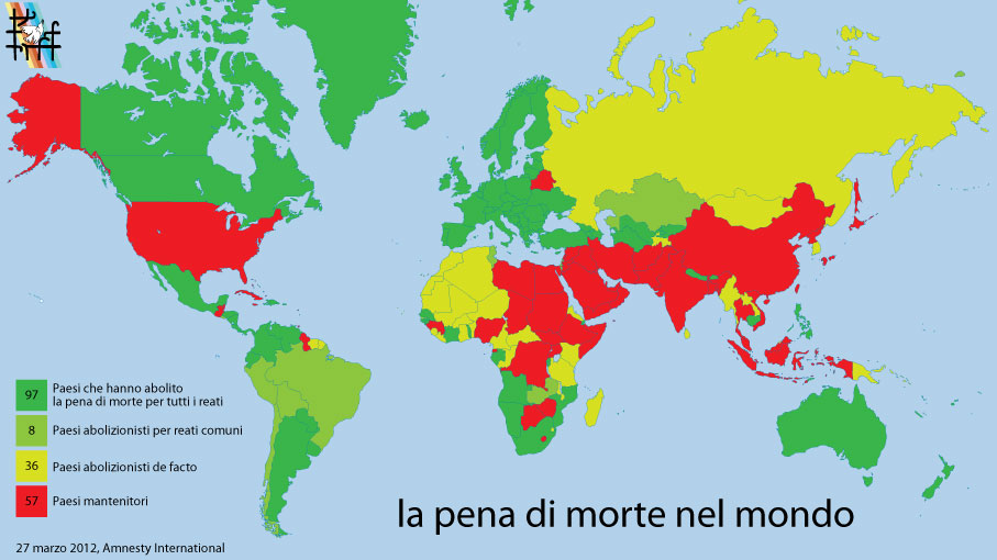 5.000 esecuzioni capitali all'anno nel mondo: la vergogna non muore