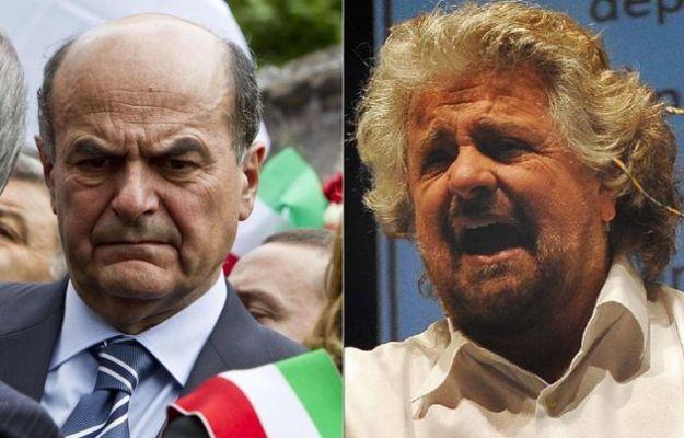 Tra Bersani e Grillo finisce ad insulti per un pugno di voti
