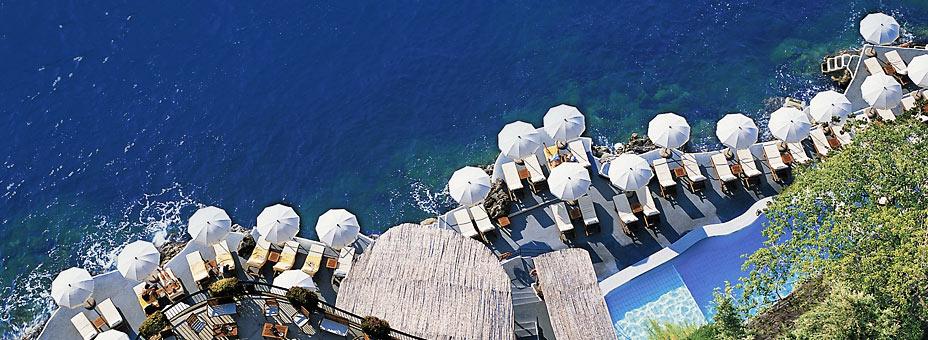 """Due hotel salernitani di Amalfi e Ravello tra """"I migliori 50 del mondo"""""""