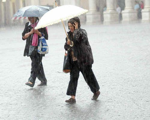 L'estate in Campania se ne va con il maltempo