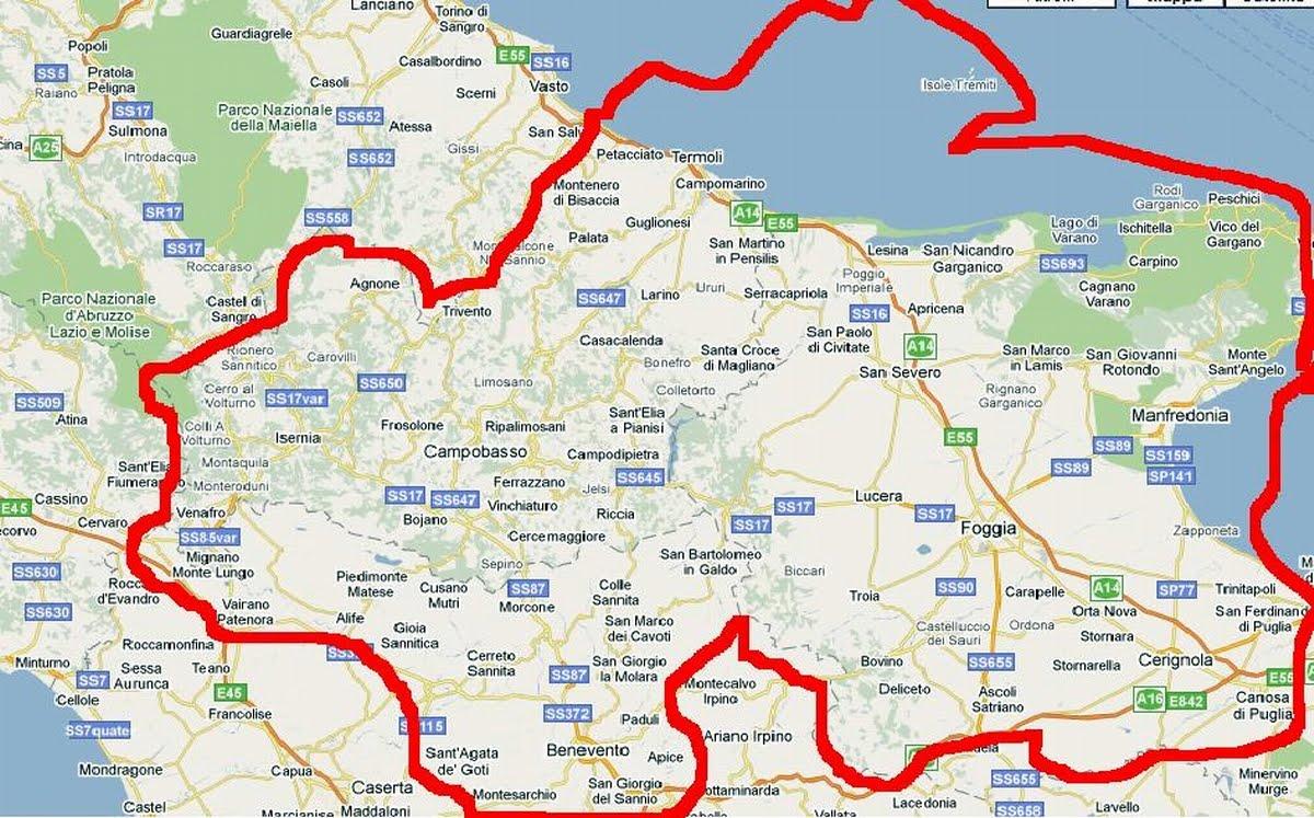 Una rivoluzione di confini per salvare la provincia di Benevento