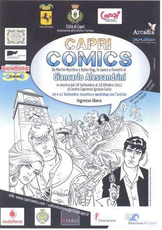 Capri Comics: l'arte del fumetto in mostra sull'isola azzurra