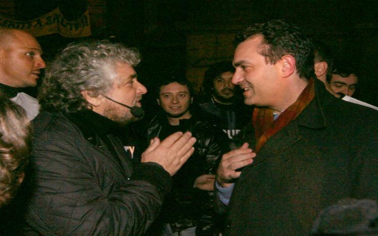 De Magistris insiste: il guru di Grillo è uomo dei poteri economici