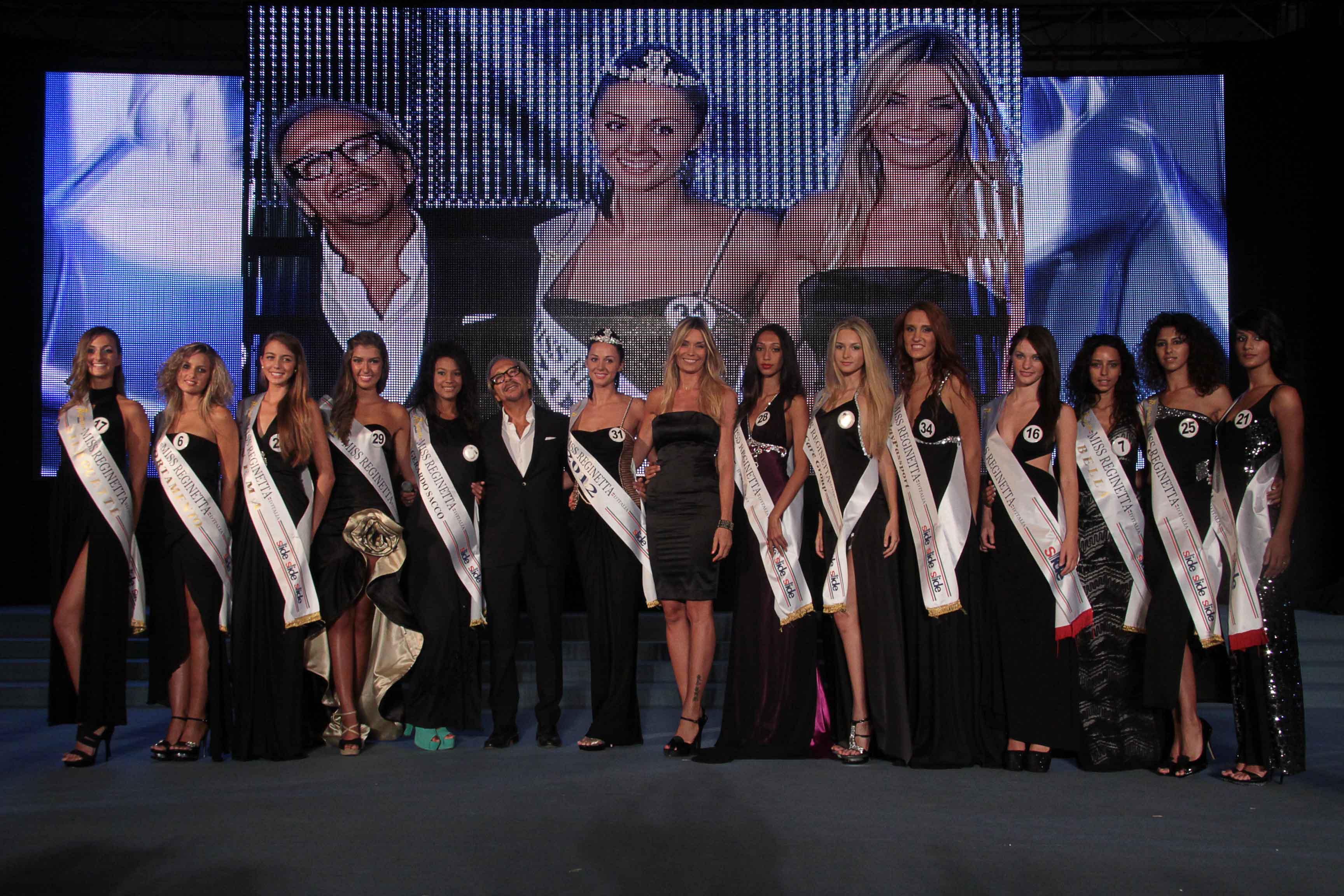 Eletta a Pontecagnano Faiano Miss Reginetta d'Italia 2012