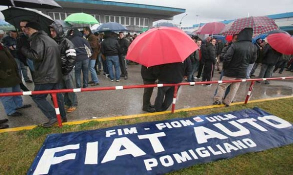 Alta tensione a Pomigliano: blocchi e caos