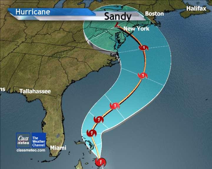 New York trema, domani sera è in arrivo l'Uragano Sandy
