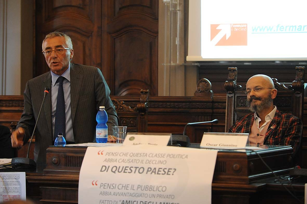 """Giannino """"rianima"""" una Campania in ginocchio e preoccupa i partiti"""