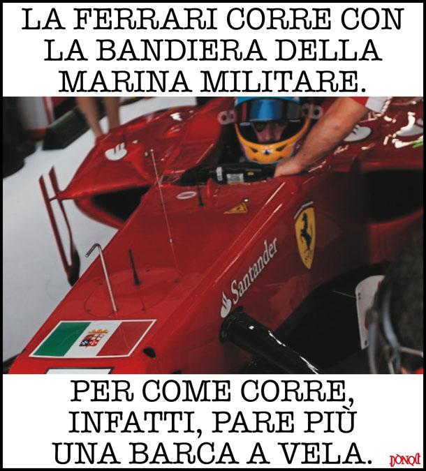 La Ferrari come la corazzata Potëmkin