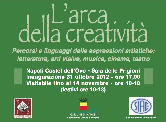 L'arca della creatività: dal 31 ottobre a Castel dell'Ovo