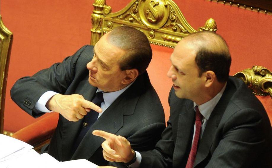 Berlusconi scarica Alfano: non capisce il Paese