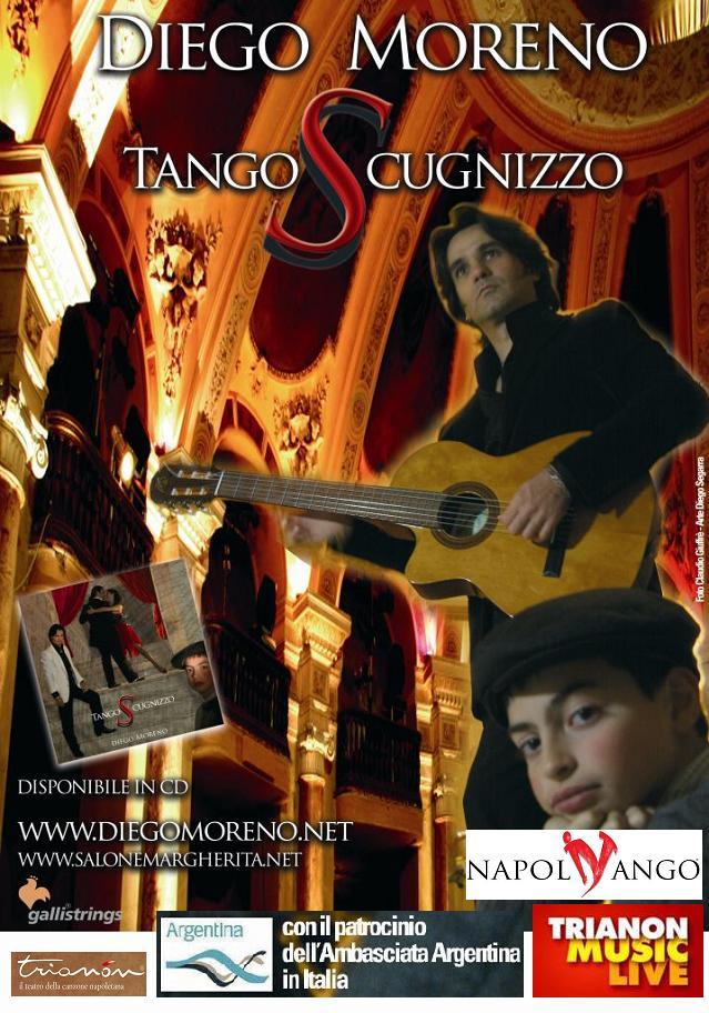 Oggi al Trianon, Diego Moreno e il suo tango da Buenos Aires a Napoli