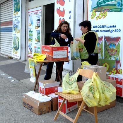 Cava de' Tirreni, presentato il consuntivo del Banco alimentare 2012