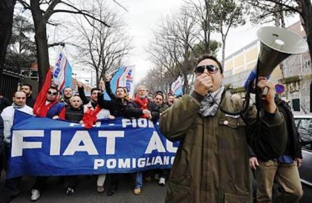 """La Procura """"guarda"""" alla Fiat di Pomigliano: il reato qual è?"""