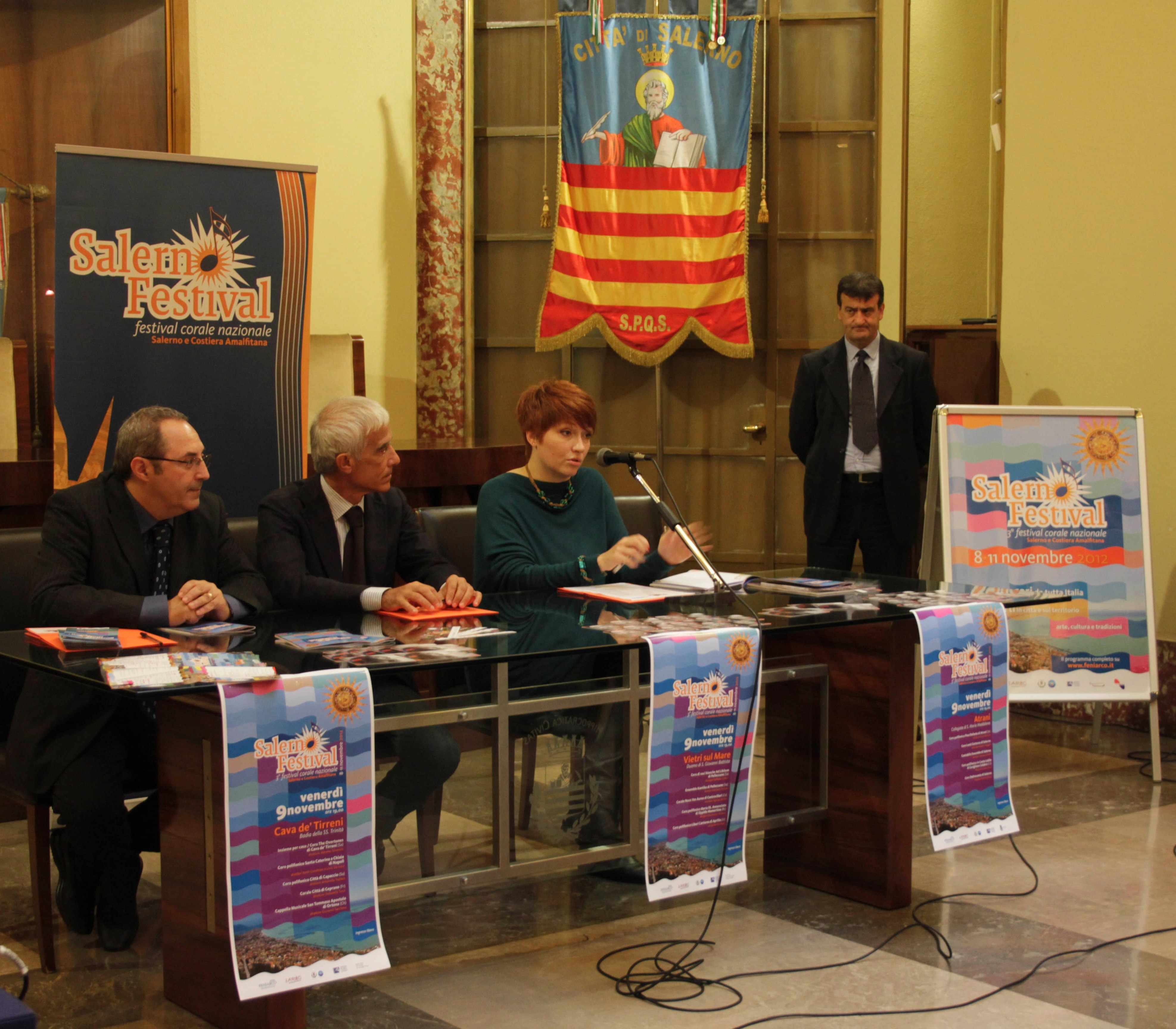 Dall'8 all'11 Novembre Salerno capitale della musica corale