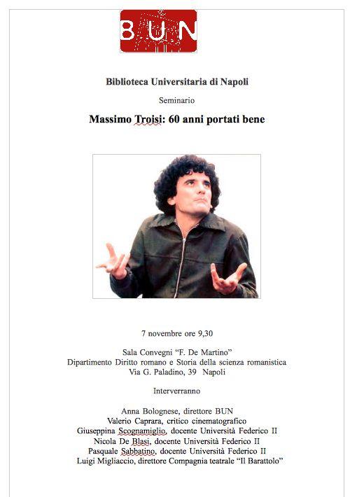 Napoli, Massimo Troisi: 60 anni portati bene