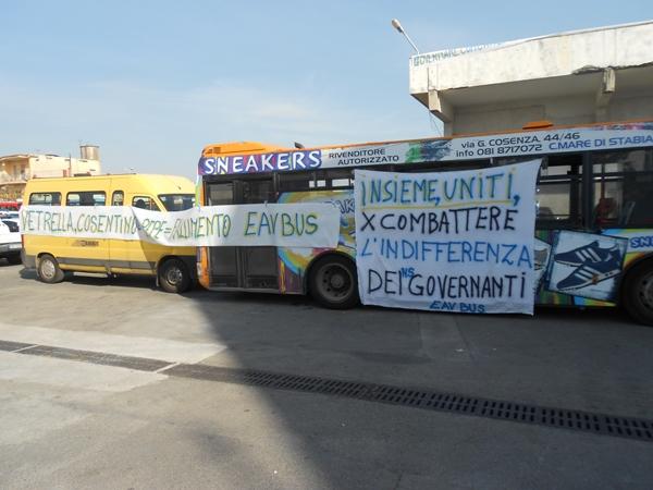 Fallimento EavBus 6/ Esercizio provvisorio ok, la Regione paghi