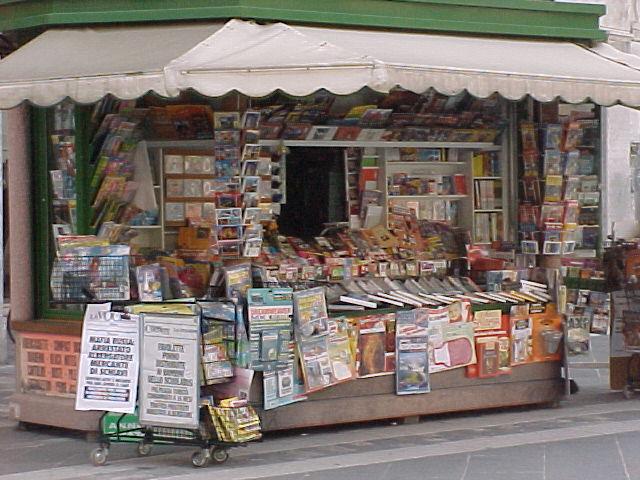 La Fieg: in edicola gli abbonamenti a giornali e riviste