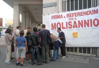 A Benevento vogliono lasciare la Campania e andare con il Molise