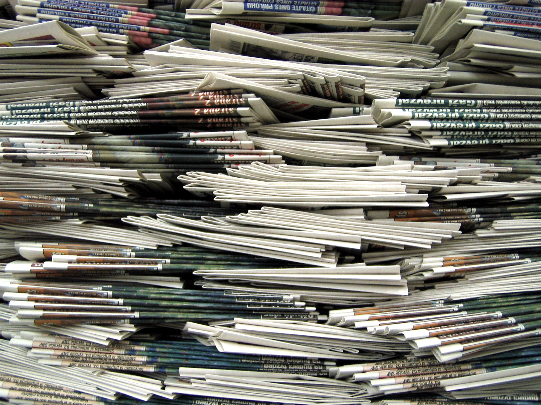 Giornali in agonia, un milione di lettori in meno nel 2012