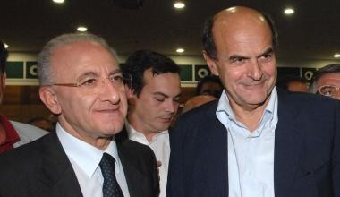 """De Luca passa """"la dogana"""" pur di sostenere Bersani a Napoli"""