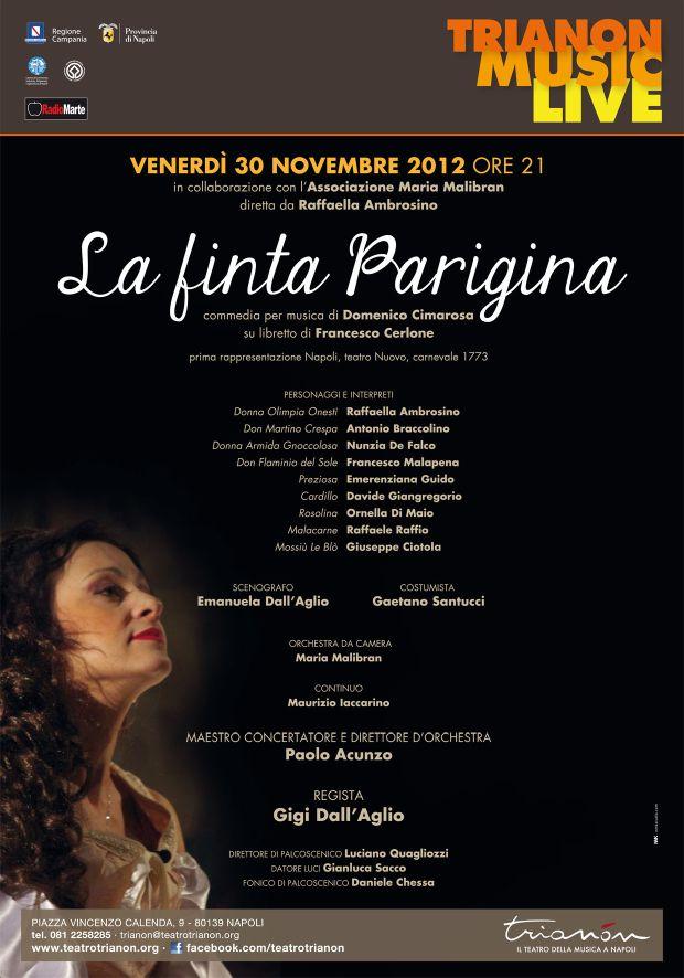 Al Trianon, domani presentazione de «La finta Parigina» in prima ripresa moderna