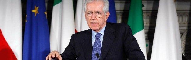 """Monti: """"È a rischio il Sistema sanitario nazionale"""""""