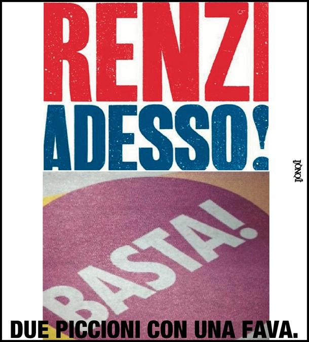 Renzi, messaggi? No, spam