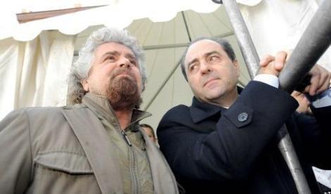 Grillo lancia Di Pietro Capo dello Stato, i grillini lo bocciano