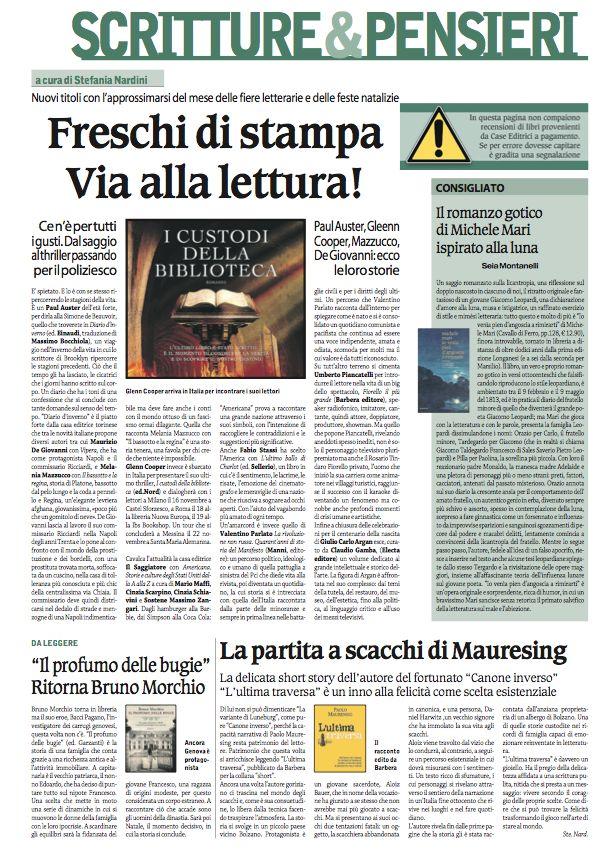 Scritture&Pensieri de Il Corriere Nazionale