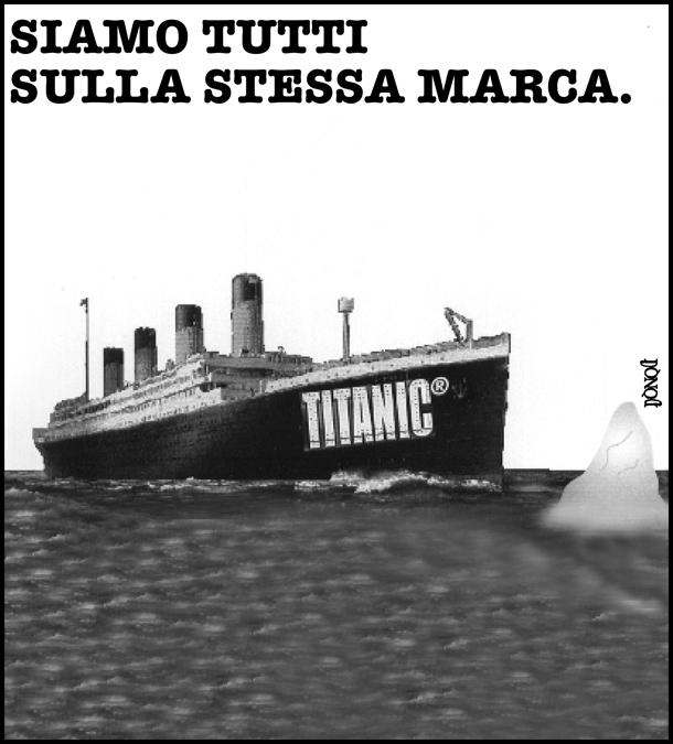 A un passo dal naufragio