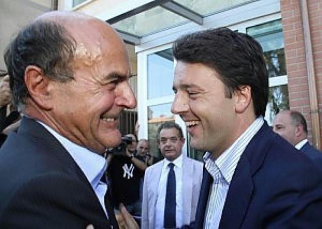 Bersani tende la mano a Renzi per non restare solo con l'apparato