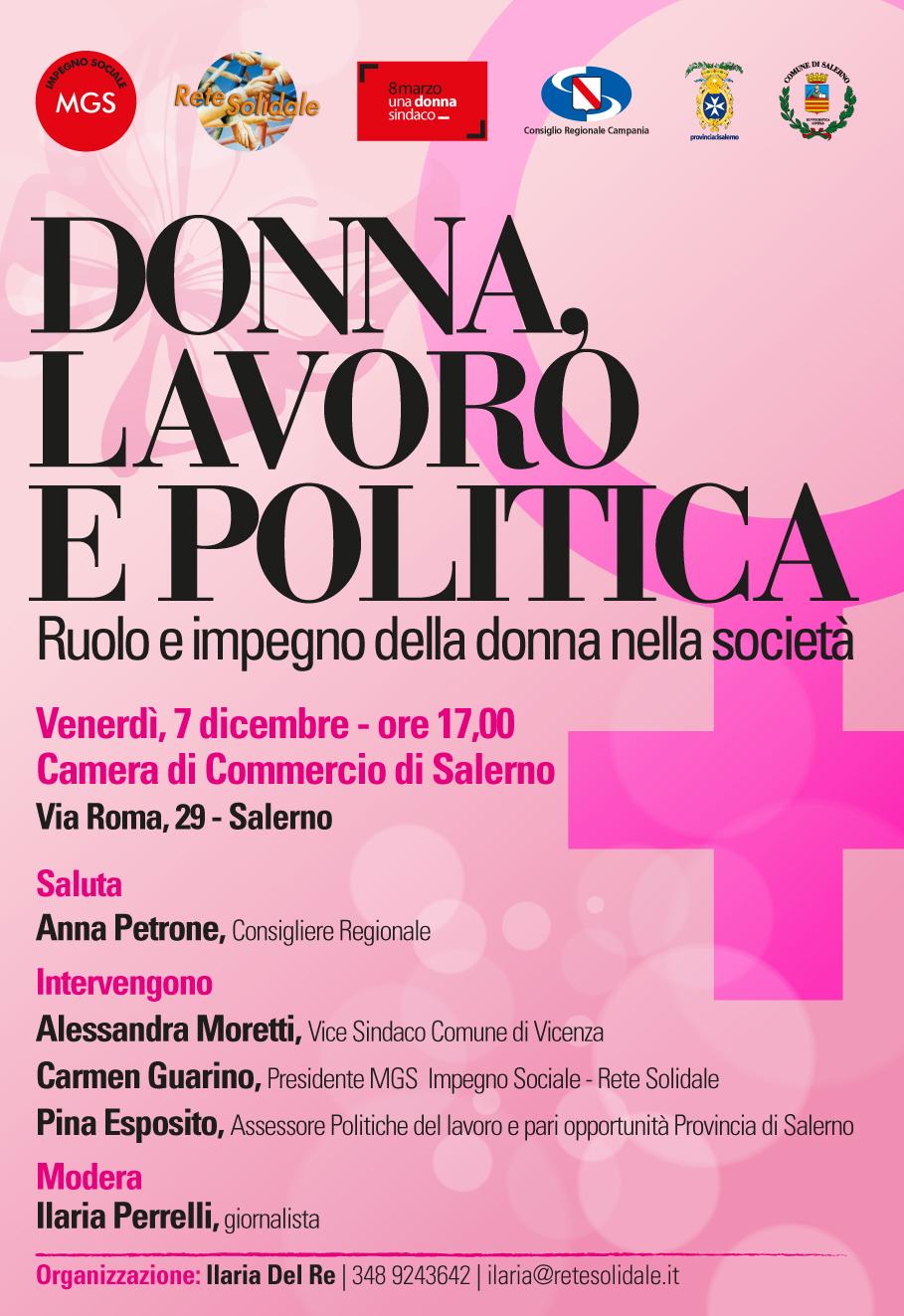 Ruolo e impegno della donna nella società, convegno a Salerno