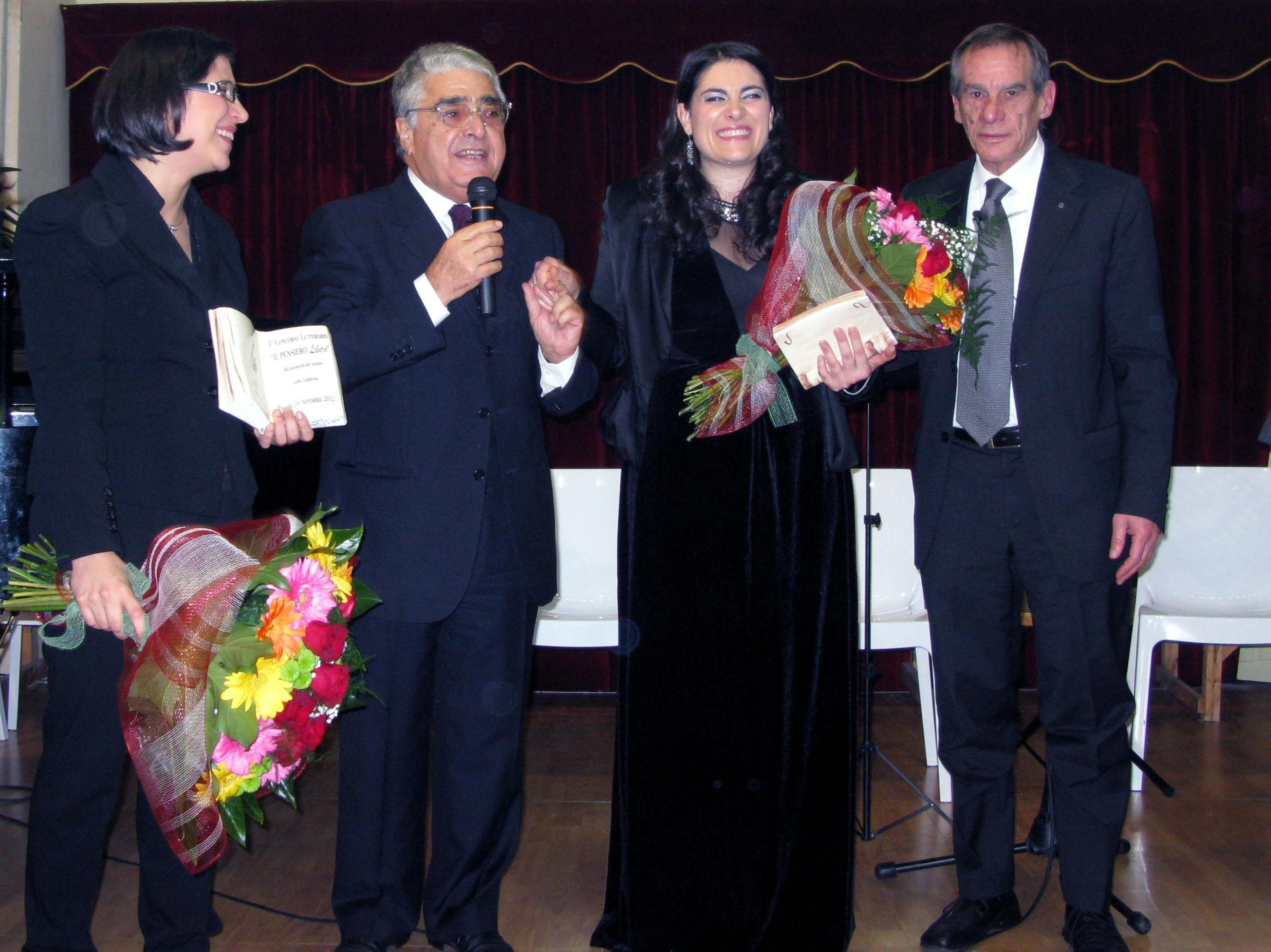Primo Concorso Letterario alla memoria del notaio Calabrese a Pagani