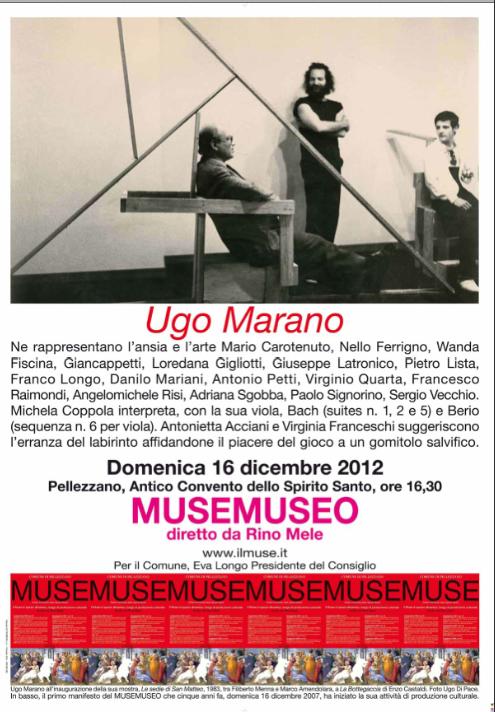 L'ansia artistica di Ugo Marano
