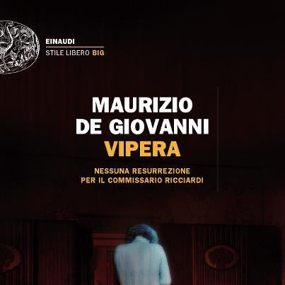 """Cava de' Tirreni, il 18 dicembre De Giovanni presenta """"Vipera"""""""