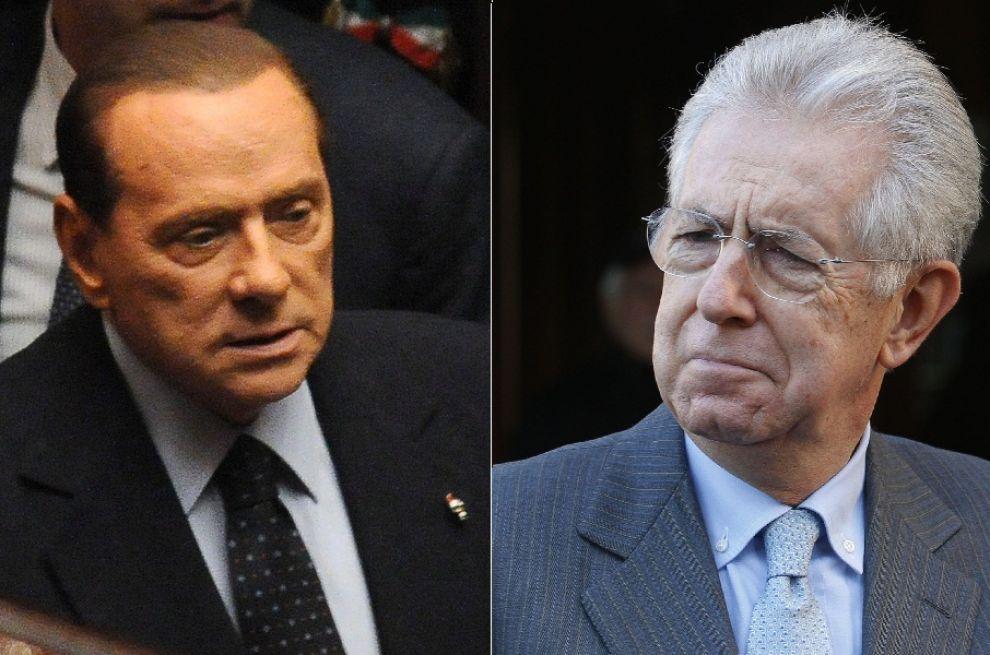 Berlusconi si riprende il Pdl e scarica Monti