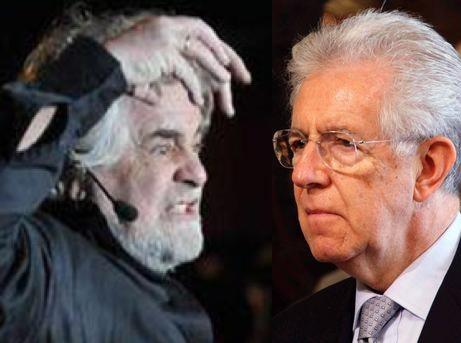 L'antidiscorso di Grillo che intravede anche un colpo di Stato