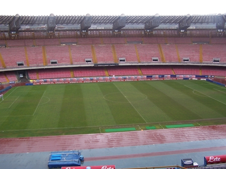 Si sono venduti anche le telecamere dello stadio San Paolo