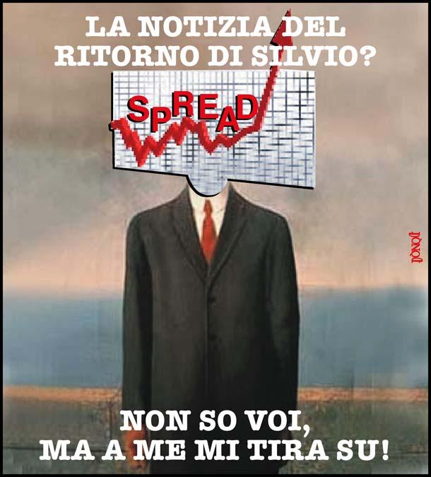 SS, Spread e Silvio: un'abbinata perdente
