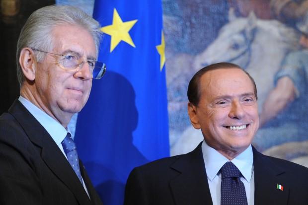 Lo scontro Monti-Berlusconi sulle tasse già oscura Bersani