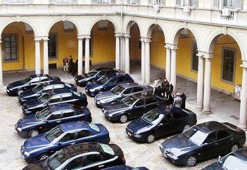 Sprecopoli: in Campania hanno eliminato solo tre auto blu