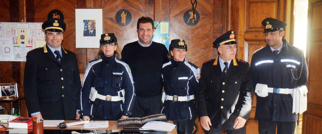 Pontecagnano, i Vigili Urbani presentano il calendario 2013