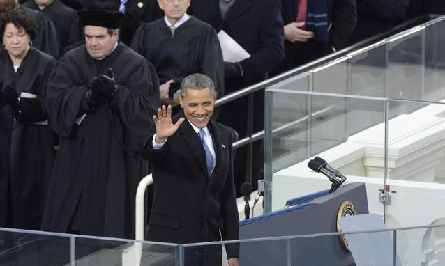 Obama, spettacolo e ritorno alla grande politica