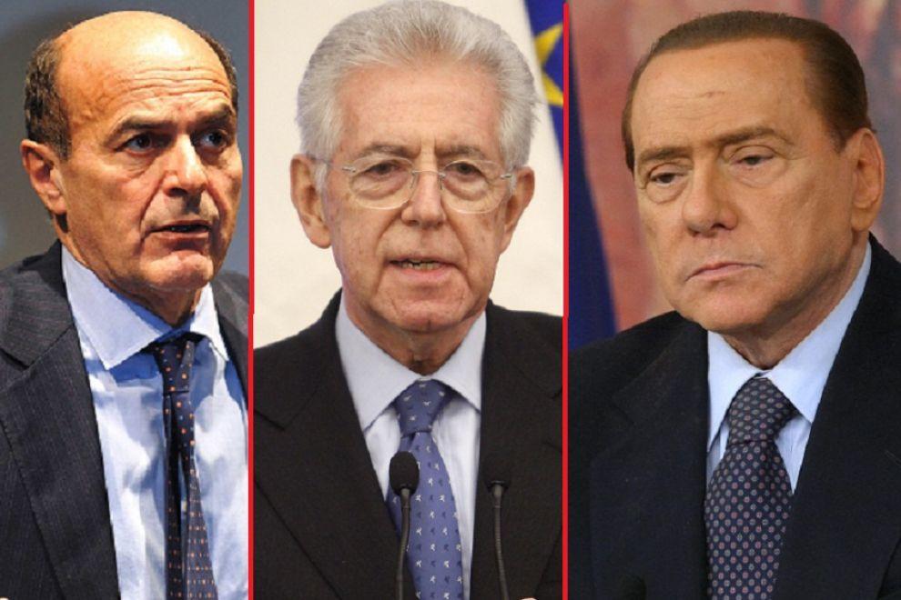 Tutti perdono le staffe con Monti: la guerra è sulle tasse