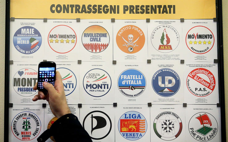 Elezioni: escluse le liste civetta di Monti e Ingroia, rischia la Lega