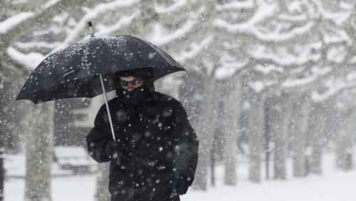 Arriva l'inverno, temperature giù di otto gradi