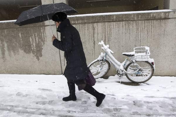 Nelle prossime ore nevicate in Campania anche a bassa quota