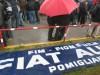 Napoli: Protesta Alfa Romeo-Fiat a Pomigliano D'Arco